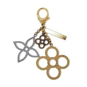 100% Auth Louis Vuitton Key Ring/Bag Charm